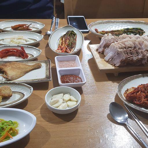 한상차림밥상 사진 - 서울시 성북구 안암동3가 9