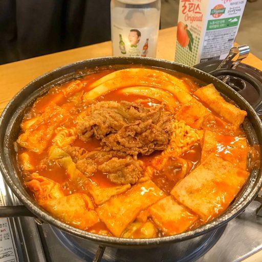 모범떡볶이와수제돈까스 사진 - 서울시 강남구 역삼동 696-4