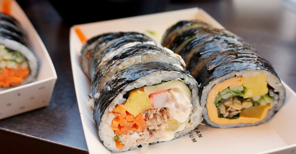 Best Take-Out Gimbap Pictures
