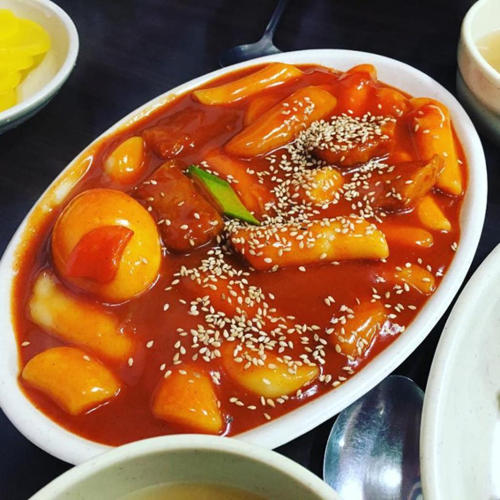 전국 떡볶이 맛집 10곳. 사진